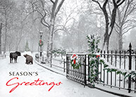 Wall street cards corporate holiday cards for the financial industry shop wall street greeting cards m4hsunfo